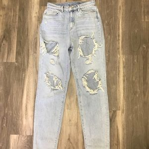 urban outfitters mom jeans, never worn